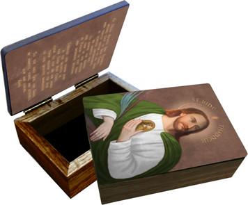 Saint Jude Keepsake Box