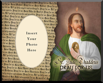 Saint Jude Photo Frame