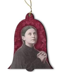 Saint Gemma Galgani Wood Ornament