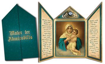 Schoenstatt Madonna Tri-fold Triptych Cards
