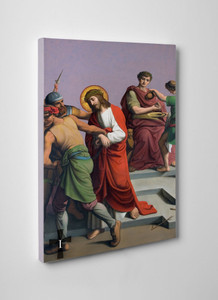 St. Peter's Stations of the Cross Gallery Wrapped Canvas