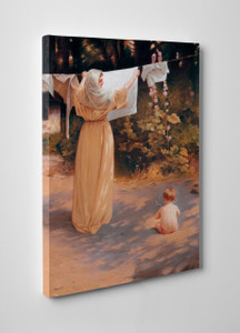 Polish Madonna Gallery Wrapped Canvas