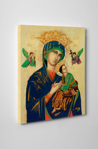 Our Lady of Perpetual Help Gallery Wrapped Canvas