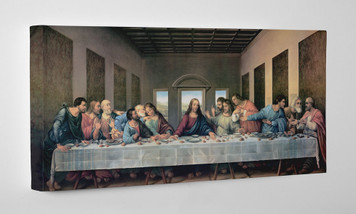 Last Supper (Redone) Gallery Wrapped Canvas