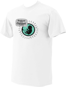 Glorious Purpose White Pro-Life T-Shirt