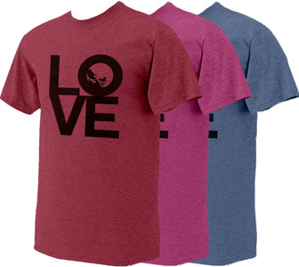 Love with Baby Heather Pro-Life T-Shirt