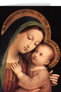 Our Lady of Good Counsel Greeting Card