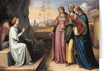 Women at the Tomb Easter Season Greeting Card