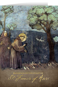 St. Francis of Assisi Feast Day Greeting Card