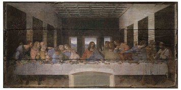 Last Supper Rustic Wood Plaque