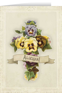Alleluia Easter Season Greeting Card