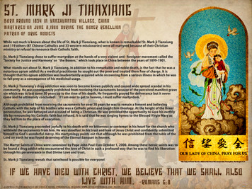 St. Mark ji Tianxiang Explained Poster