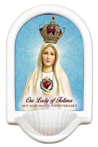 100 Year Anniversary Fatima Holy Water Font