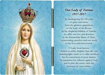 100 Year Anniversary Fatima Diptych