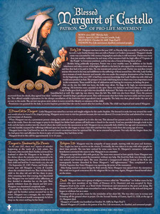 Blessed Margaret of Costello Poster