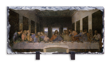 Last Supper Horizontal Slate Tile