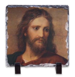 Christ at 33 Square Slate Tile