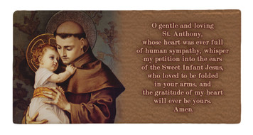 St. Anthony Prayer Hi-Gloss Mini Tile