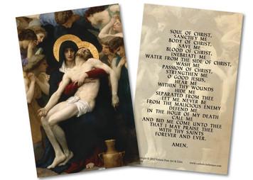 La Pieta Holy Card