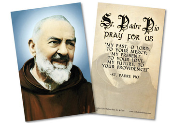 Padre Pio Holy Card