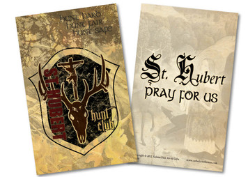 St. Hubert Hunt Club Holy Card