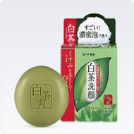 Rohto Shirochasou Face Wash Balm [Green Tea Soap]
