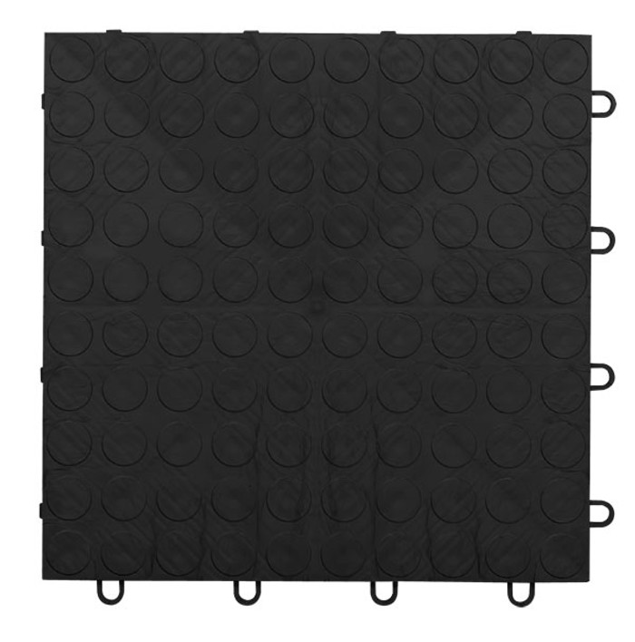 EX Tile Coin Pattern Black