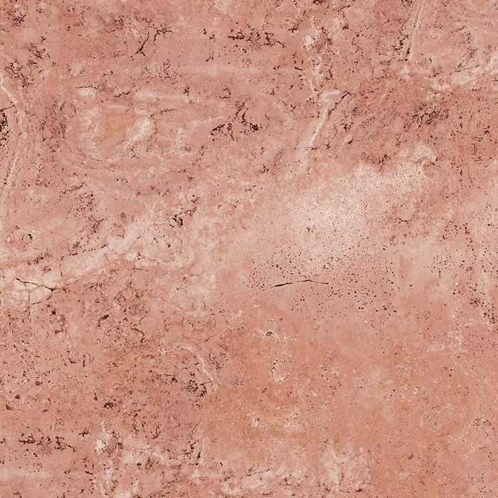 Perfection Floor Tile Natural Stone Travertine Rose Closeup