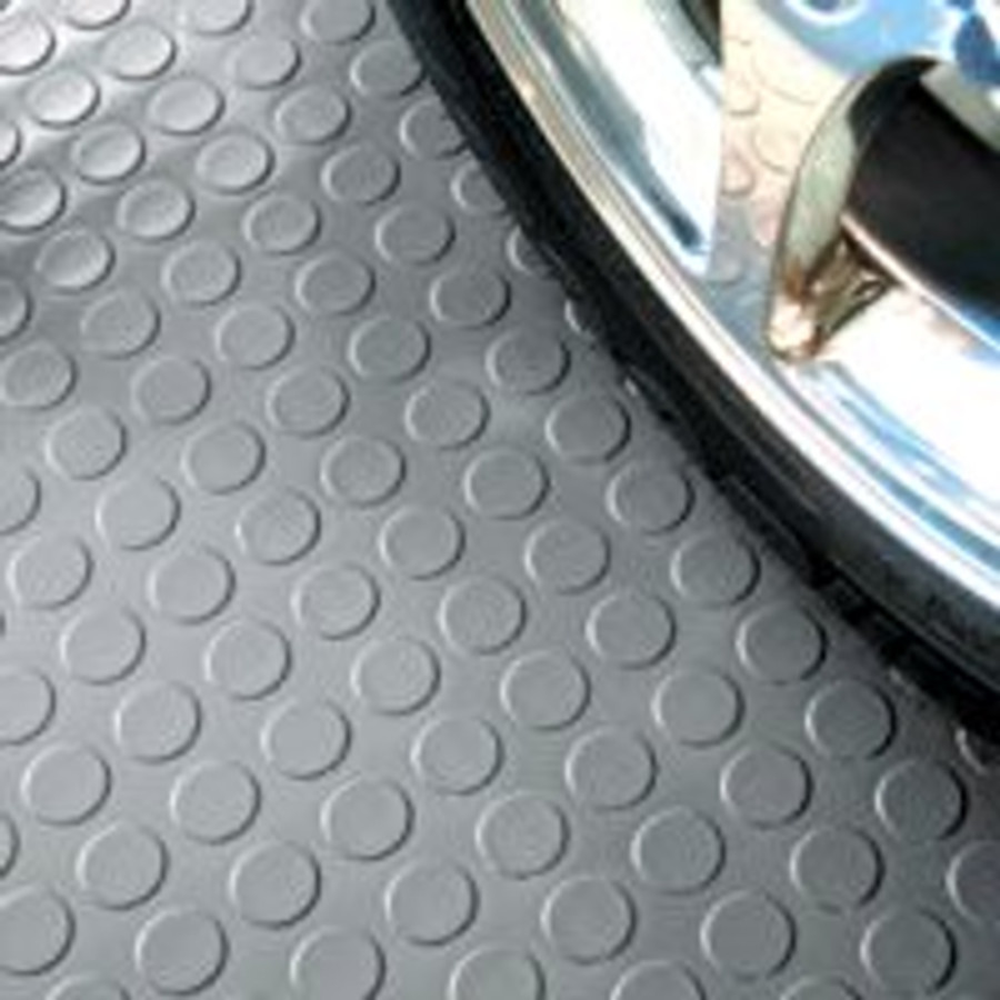 G-Floor Coin Pattern Garage Floor Covering Slate Grey