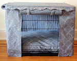Casablanca Dog Crate Cover & Optional Bed
