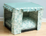 Elegancia Dog Crate Cover & Optional Bed