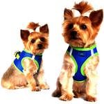 American River Ultra Choke Free Dog Harness - Cobalt Blue