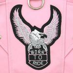 Pink Dog Biker Jacket