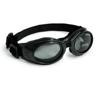 Black Originalz Pet Dog Sunglasses by Doggles