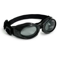 Black Originalz Pet Dog Sunglasses by Doggles