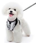 EasyGO Black Necktie Dog Harness