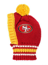 NFL San Francisco 49ers Dog Knit Ski Hat