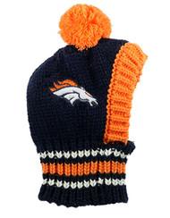 NFL Denver Broncos Dog Knit Ski Hat