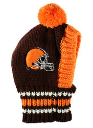 NFL Cleveland Browns Dog Knit Ski Hat