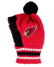 NFL Arizona Cardinals Dog Knit Ski Hat