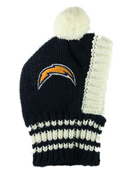 NFL San Diego Chargers Dog Knit Ski Hat