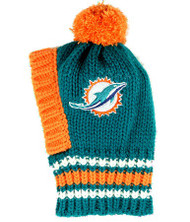 NFL Miami Dolphins Dog Knit Ski Hat