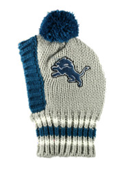 NFL Detroit Lions Dog Knit Ski Hat