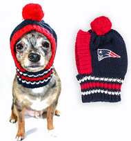 NFL New England Patriots Dog Knit Ski Hat