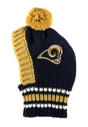 NFL St Louis Rams Dog Knit Ski Hat