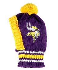 NFL Minnesota Vikings Dog Knit Ski Hat
