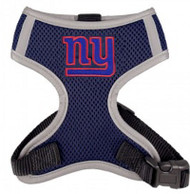 NFL New York Giants Mesh Dog Harnesses