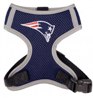 NFL New England Patriots Mesh Dog Harnesses