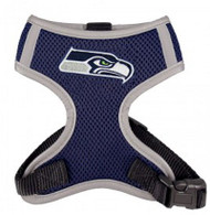 NFL Seattle Seahawks Mesh Dog Harnesses