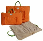 Tote beds in Tangerine